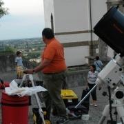 telescopi in montaggio