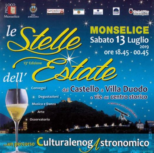 Monselice le stelle dell'estate